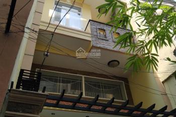 Cho thuê nhà HXH 125/2C Nguyễn Tiểu La, gần 3/2, DTSD: 120m2, 1 trệt 2 lầu, 4 phòng, nhà mới