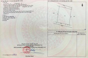 Nhà kẹt tiền cần bán nhà đất 960..2m2 thổ cư 100%, tại Tam An, Long Thành, gần thị trấn