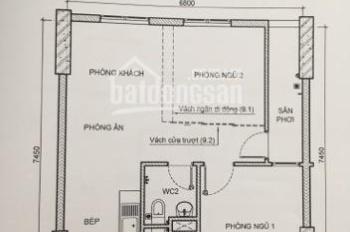 Cần chuyển nhượng gấp căn hộ Sài Gòn Intela, Phong Phú, Bình Chánh, đường Nguyễn Văn Linh