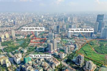 Sky Park Residence đất vàng view công viên siêu đẹp, nội thất 5* căn 2PN 3,8 tỷ, LH ngay 0396791895