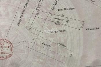 Đất 5 * 34m, mặt tiền Thủ Khoa Huân, Phường Thuận Giao, Thuận An