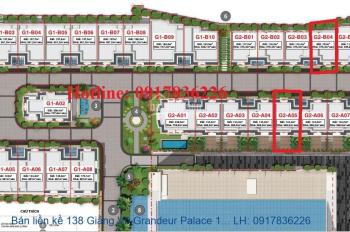 Bán suất ngoại giao liền kề 138 Giảng Võ Grandeur Palace 117m2-205m2 giá rẻ nhất 0934522486
