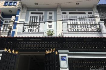 Bán nhà 1 trệt 1 lầu (kế hồ cá Koi) đường nhựa 8m, cách đường Trần Văn Mười 300m