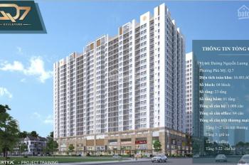 Q7 Boulevard, 1,2, 3PN, shophouse, Office, CK 3-18%, TT 35%, nhận nhà quý 4/2020. LH 0932064669