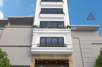 Bán nhà 9 tầng mặt hồ Hạ Đình, diện tích CN 75m2, xây mới, tiện kinh doanh