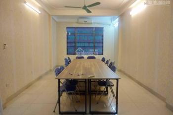 Cho thuê nhà ngõ Thái Hà - Đống Đa, DT: 80m2, 5 tầng, mặt tiền 5m, có thang máy, giá 50 tr/th