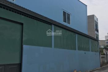 Cho thuê nhà xưởng Trương Thị Ngào, Trung Mỹ Tây, Q12. DTSD: 500m2, 1 trệt 1 lầu