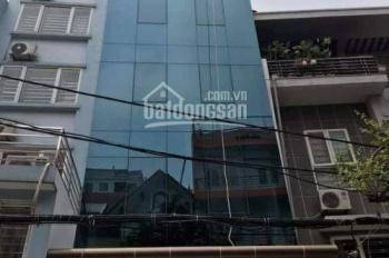 Cho thuê nhà MP Trần Quốc Vượng, Cầu Giấy DT 100m2 x 7 tầng, giá 60tr/th, LH 0822288811