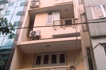 Cho thuê nhà 5 tầng ngõ 34 Nguyễn Thị Định, Cầu Giấy, HN, DT: 60m2. LH: 0984408805
