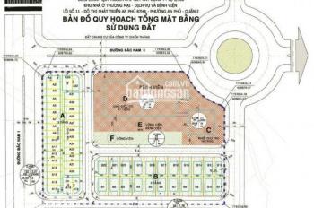 Cần bán 5 lô đất MT đường Nguyễn Hoàng, Q.2 giá 4 tỷ 8/nền, SHR, CSHT hoàn thiện, 0906.349.031
