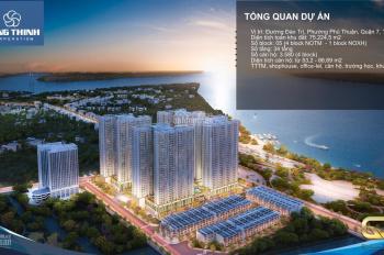 Cần bán lại căn hộ 1PN Q7 Sài Gòn Riverside Hưng Thịnh - 0846 878 878