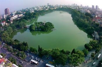 Bán nhà đất đường Trấn Vũ, Ba Đình, diện tích 164m2, mặt tiền 10m, nở hậu mặt tiền sau, Giá 52 tỷ.