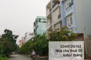 Cho thuê nhà 3 tầng, KDC Phú Mỹ Chợ Lớn, DT 5x21,5m, giá thuê chỉ 25 triệu/tháng