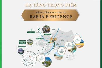 Đất nền sổ đỏ xây dựng tự do trung tâm TP Bà Rịa, chiết khấu ưu đãi, LH 0938 493 178