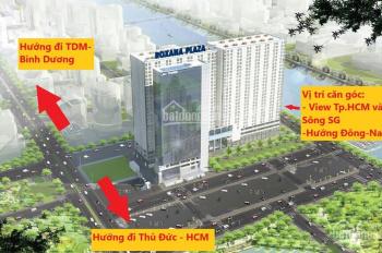 Chỉ với 1.2 tỷ để có 1 căn hộ nằm ngay cổng chào Bình Dương 56m2 2pn view đẹp Lh 0355384831