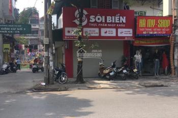 Cho thuê cửa hàng mặt phố Thái Thịnh, DT 35m2, MT 5m + mặt ngõ, 30tr/th. LH Hiếu 0974739378
