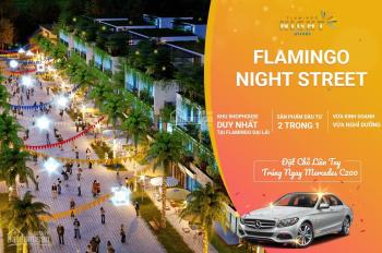 Shophouse Kinh Doanh Nhất Tại Flamingo Đại Lải Resort - Mặt Tiền 8m 3,5 Tầng Giá 5tỷ 0968705333