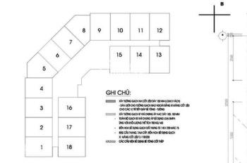 (0963777502) bán gấp suất phân CC CT2A Thạch Bàn,CH 1503,DT 69,47m2, giá bán 15tr/m2
