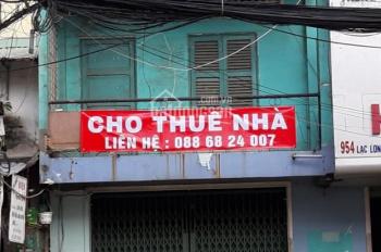 Cho thuê nhà nguyên căn mặt tiền Lạc Long Quân, Tân Bình, 35 triệu/th