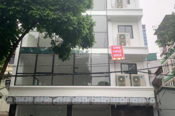 Cho thuê nhà mặt phố Nguyễn Ngọc Vũ, 100m2 x 6T, 50m2 x 7T, 60m2 x 6T giá từ 50tr - 100tr/th