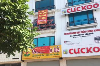 Cho thuê nhà MP Nguyễn Xiển, Thanh Xuân, 62m2 x 3.5 tầng, 65m2 x 6 tầng, 90m2 x 7 tầng