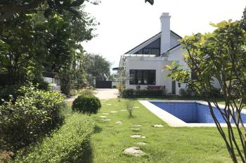 Bán căn biệt thự nghỉ dưỡng thiết kế kiểu Pháp. Diện tích 914M2, đất ở 300 tại Phú Mãn, Quốc Oai