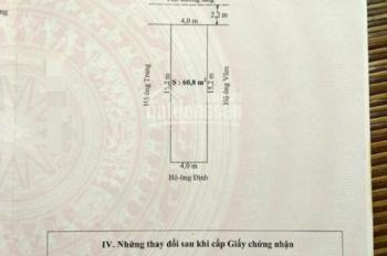 Bán lô đất thổ cư tại thôn Vĩnh Khê, An Đồng, An Dương, Hải Phòng. LH: 0788283269