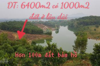 Bán lô đất phong thủy đẹp làm nhà vườn nghỉ dưỡng ở Lương Sơn Hòa Bình
