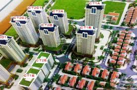Cho thuê nhà liền kề khu VOV Mễ Trì đối diện Vinhomes Green Bay, 93m2 xây thô 4T, 12 - 18tr/th