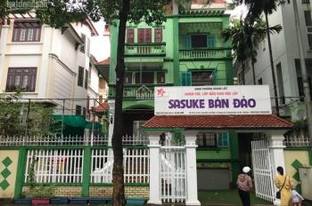 Bán biệt thự Linh Đàm BT3 lô 4 mặt phố Nguyễn Duy Trinh 24 tỷ 255m2 xây 4,5 tầng giá rẻ nhất Hà Nội