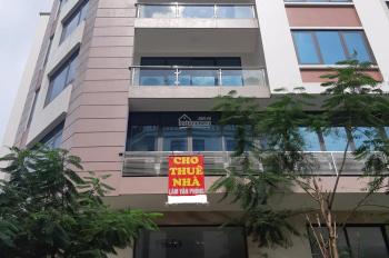 cho thuê nhà mặt phố trung kính làm văn phòng , spa .. diện tích 60m2*6 tầng , mặt tiền 8m