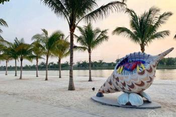 HOT HOT HOT! Bán BT đơn lập Ngọc Trai Vinhomes Ocean Park góc ĐN-TN siêu đẹp sát mặt hồ giá 22.1 tỷ