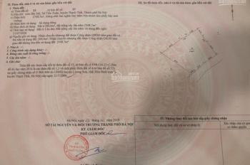 Bán 2700m2 đất thổ cư mặt đường Bãi Dài, xã Tiến Xuân, Thạch Thất, giá 2,8 triệu/m2