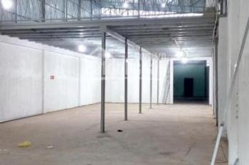 Cho thuê nhà xưởng kiên cố có sẵn gác mới xây mặt tiền tại xã Đa Phước, Huyện Bình Chánh, TP HCM