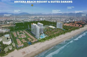 Chuyển nhượng căn hộ mặt biển Đà Nẵng - Có bãi biển riêng giá đầu tư. LN cam kết 10%/năm