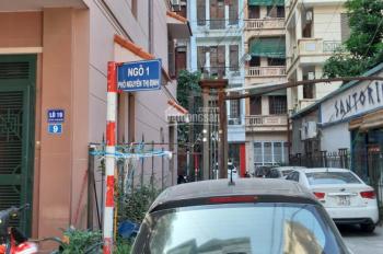 Chính chủ cần bán gấp nhà ngõ 1 phố Nguyễn Thị Định 35m2, 5,5 tầng, ô chờ thang máy