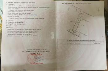 Di chuyển nơi ở bán liền 2 căn nhà liền kề riêng biệt QL1A. Đối diện bệnh viện TW Quảng Nam