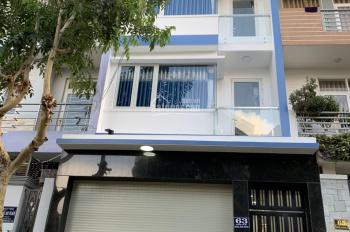 Cần bán gấp nhà sổ hồng 1 trệt 2 lầu sân thượng, DT 95m2 ấp 5 xã, Phong phú khu dân cư Giao Hòa