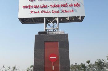 Cần bán mảnh đất TĐC Kiêu Kỵ, 80m2 Gia Lâm, Hà Nội. Cách Vincity Gia Lâm 800m.