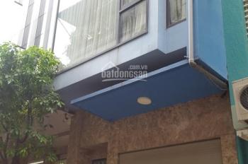 Cho thuê nhà phân lô phố Trần Quốc Hoàn. Diện tích 55m2, 5 tầng, 8 phòng, ô tô đỗ cửa
