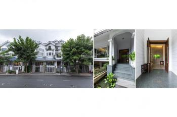 Cần cho thuê biệt thự Saigon Pearl nội thất cơ bản giá 89 triệu/tháng DT 500m2 sử dụng
