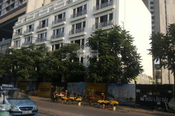 Bán nhà Trần Bình, 107,3m2 x 6 tầng và có hầm, mặt tiền 5,5m, giá bán 230 triệu/m2 đất. 0985505363