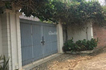 Cần bán lô đất  1002m2 đã xây dựng một biệt thự nhà vườn hoàn chỉnh tại Phú Cát, Quốc Oai, Hà Nội