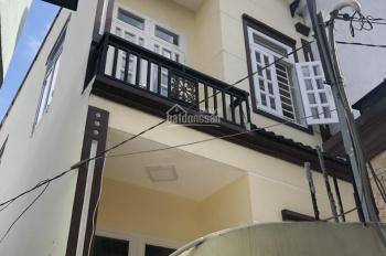Cho thuê gấp nhà mặt tiền Đông Hưng Thuận 42, P. Tân Hưng Thuận, Q12 có DT 4,2mx20m, giá 10 tr/th