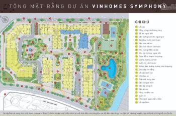 Chính thức mở bán chung cư Symphony - Vinhomes Riverside - cam kết lấy căn đẹp LH: 0972234591