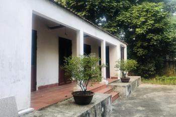 Bán nhà vườn nghỉ dưỡng tại Phú Mãn, Quốc Oai, HN. Giá 2,5 triệu/m2