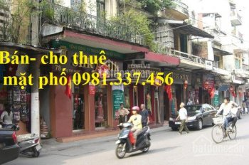 Cho thuê nhà mặt phố Thái Hà 100m2 mt: 8m 93tr/th Quý mặt phố 0981337456