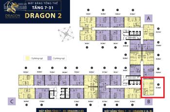 TOPAZ ELITE quận 8 block Dragon 2B tầng trung căn số 09 3 phòng ngủ view đẹp không bị che chắn