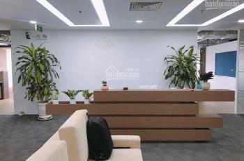 Văn phòng 60m2 mặt phố Trần Thái Tông phòng rộng, view kính, có hầm để xe, dịch vụ tốt 0365145375