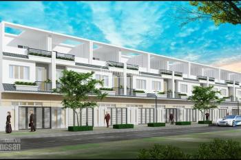 Cho thuê nhà phố Him Lam Phú Đông 1 trệt 2 lầu, diện tích đất 5 x 18.5m, giá 20tr. LH 0967.087.089